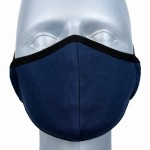 WHOLESALE: Reusable cotton mask BELL for children with OEKO Tex silver ions Navy Blue