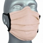 WHOLESALE: Reusable cotton face mask OEKO Tex IVORY, NAVY, BLACK