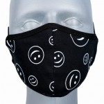 WHOLESALE: Reusable cotton mask BELL for children with OEKO Tex silver ions SMILE