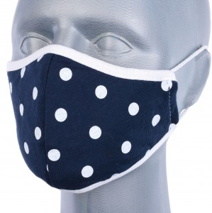 WHOLESALE: Reusable cotton mask BELL for children with OEKO Tex silver ion HEARTS of roses